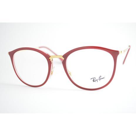 935524c4c Armação Óculos de Grau Ray-Ban RB7140 5854 - Óculos Feminino ...