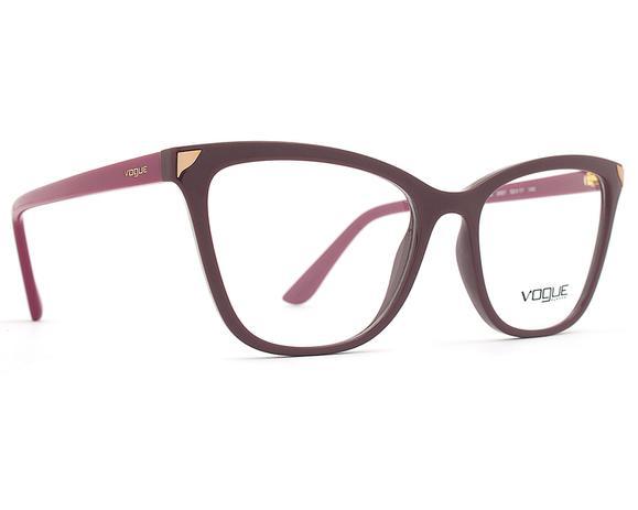 d5b30f643 Armação Óculos de Grau Vogue Feminino Metallic Beat VO5206L 2597 ...