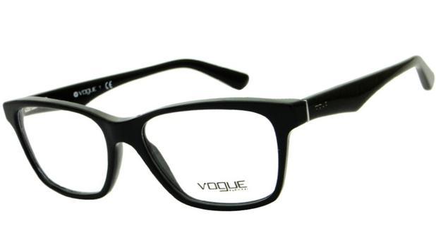 45cd29f2aab6f Armação Óculos de Grau Vogue Feminino VO2787 W44 - Óptica - Magazine ...