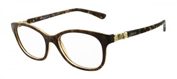 87f6f3b91eb86 Armação Óculos de Grau Vogue Feminino VO2933L 2289 - Óptica ...