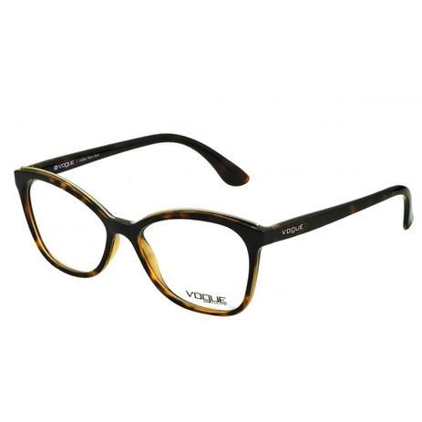958fd6d69 Armação Óculos de Grau Vogue Feminino VO5160L W656 - Óptica ...