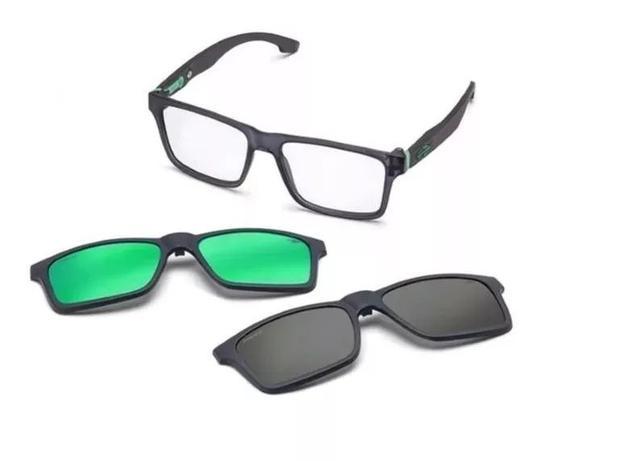 784aab22c Armação Oculos Grau Mormaii Swap M6057d63 Clipon Polarizado ...