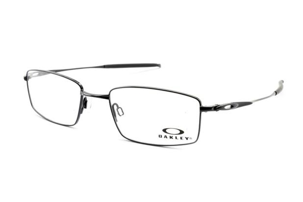 c87f35823 Armação Óculos Grau Oakley Masculino OX3136 0253 Polished Black ...