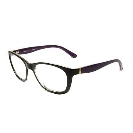 b301b1124 Armação Óculos Grau SECRET Marrom e Roxo M80 048 C692   Menor preço ...