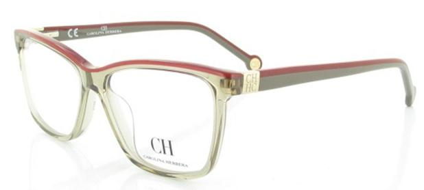 Armação para óculos de grau carolina herrera vhe 628 - Óptica ... 0f36f38999