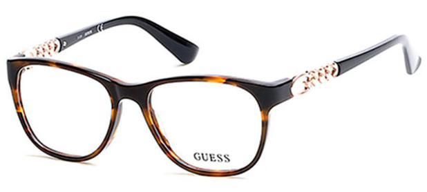 5b0c6f3dc7cc7 Armação para óculos de grau guess gu 2559 - Óptica - Magazine Luiza