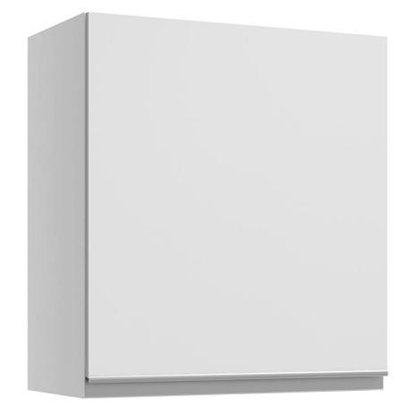 Imagem de Armário Aéreo Madesa Glamy 60 cm 1 Porta - Branco