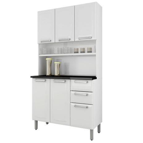 Armário De Aço Para Cozinha Regina Branco Itatiaia Móveis I3G2-105