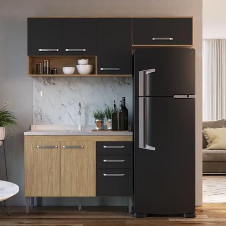 Imagem de Armário de Cozinha completo 3pc 1,90m Bélgica A3096 Casamia