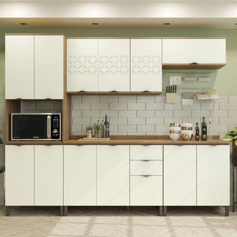 Imagem de Armário de Cozinha completo 7 peças CB592 Lótus Kappesberg