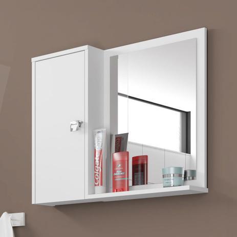 Imagem de Armário para Banheiro 1 Porta Gênova Branco