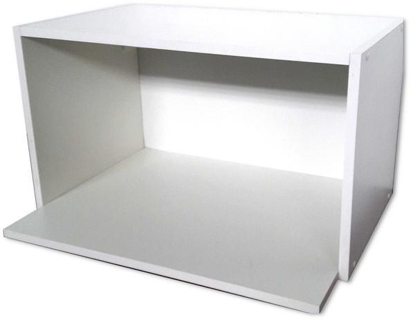 Imagem de Armário suporte microondas nicho decoração 100 %  mdf móveis mariano