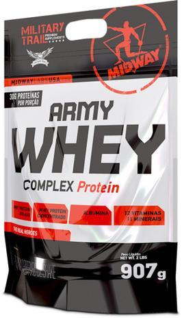 Imagem de Army Whey Complex Protein 907g Military Trail 30g de proteína por porção - Midway