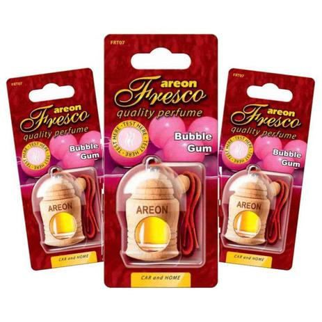 Aromatizante De Carro Areon Fresco Bubble Gum Chiclete Perfume