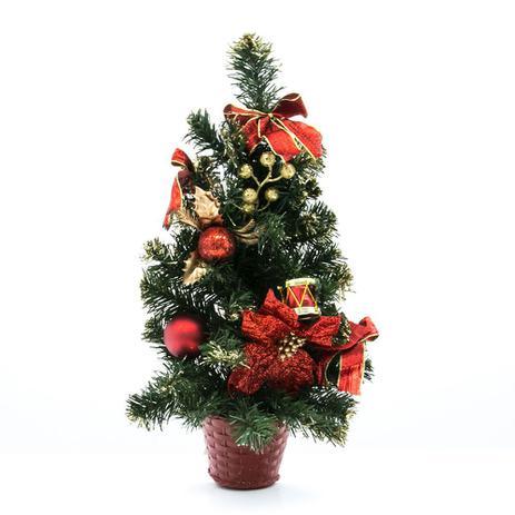 Imagem de Árvore de Natal Decorada 50cm - Snowland