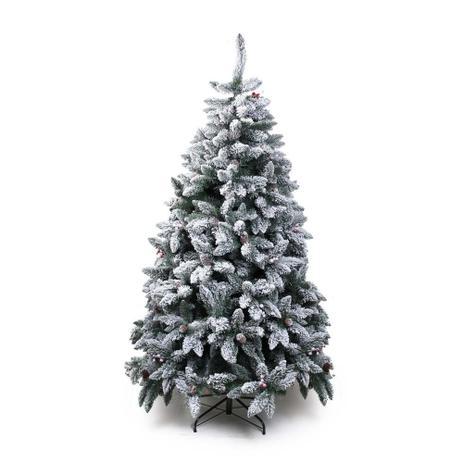 árvore De Natal Mont Blanc 150cm 706 Hastes 1pçs Verde Cromus