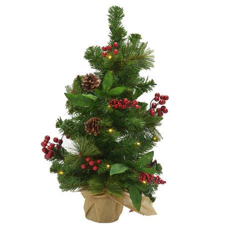 Imagem de Árvore Decorada Santini Christmas com Led 53cm Ilumine