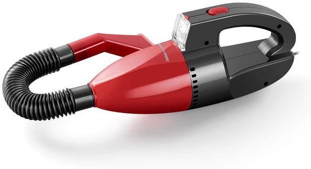 Imagem de Aspirador De Pó Automotivo 12v Vermelho Multilaser - Au607