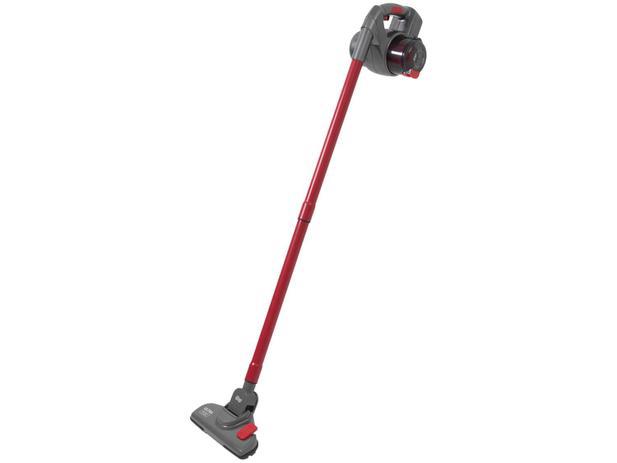 Aspirador de Pó Portátil e Vertical Wap - sem Fio Filtro HEPA 60W Ultra Mob Vermelho e Cinza
