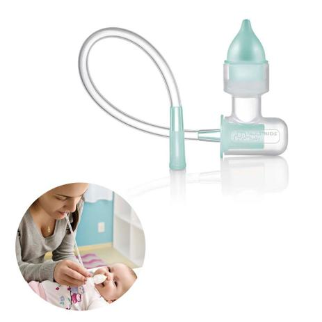 Imagem de Aspirador Nasal Para Bebês de Sucção Multikids Baby Nose Clean com Estojo Para Transporte - BB139
