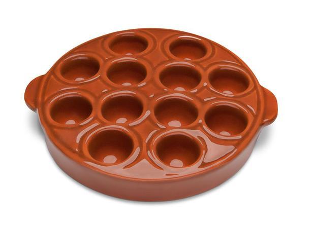 Imagem de Assadeira para Queijo Cerâmica 19 cm Provolera Motta - MOT 032