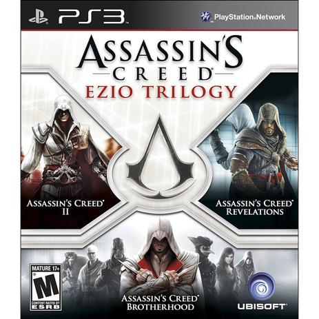 Imagem de Assassins Creed Trilogy Ezio - Ps3