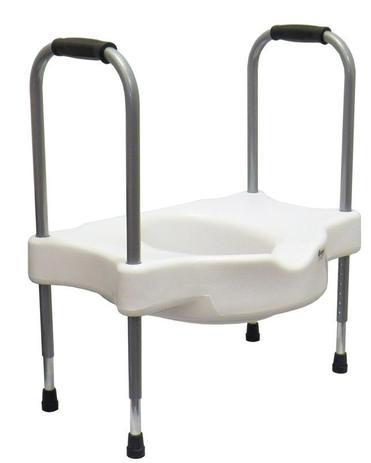 5d1a7b5c6049 Assento Sanitário Elevado Sit V Com Apoio Para Idoso - Carci ...