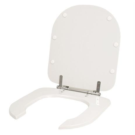 fa3812781 Assento Sanitário Poliéster Vogue Plus Conforto (PNE) Branco para bacia  Deca - Com abertura Frontal - Pontto lavabo
