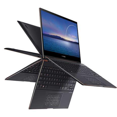 Imagem de Asus ZenBook UX371EA (Ultrabook 2-in-1) Intel 11ª geração i7-1165G7 tela 13' UHD 4K vídeo Iris Xe SSD 2Tb NVMe RAM 16Gb