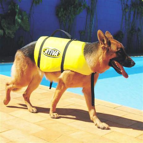 Imagem de Ativa Pet Vest G 18 a 36 kg - Colete Salva Vidas para Cão