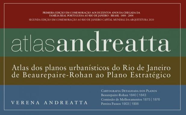 Imagem de Atlas Andreatta: Atlas dos Planos Urbanísticos do Rio de Janeiro de Beaurepaire-Rohan Ao Plano - Rio books