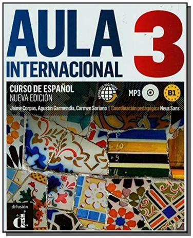 Imagem de Aula internacional 3 (B1) Nueva Edicion  - Curso de espanol