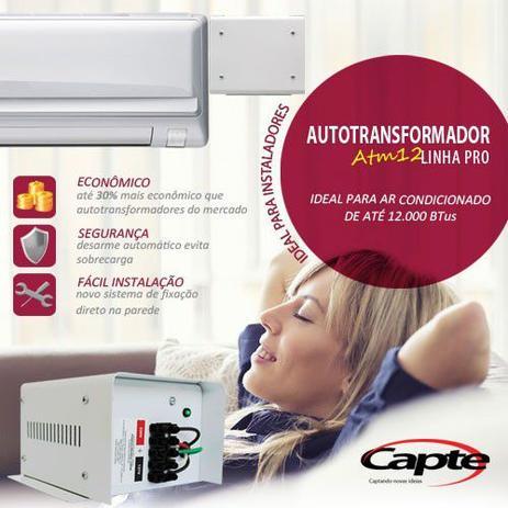 Auto Transformador Atm12 1500w Para Ar Condicionado De Ate 12000