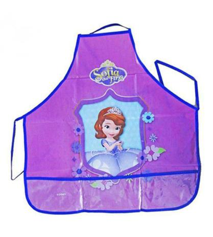 Imagem de Avental Infantil Escolar Princesa Sofia Disney Gedex