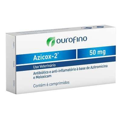 Imagem de Azicox-2 - 50MG - 6/Comprimidos