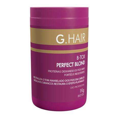 46bb40f3d B-Tox Perfect Blond 1Kg - G.Hair - Progressiva para Cabelo ...