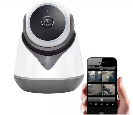 Imagem de Baba Eletrônica Câmera Wifi Hd Robo Wireless Áudio