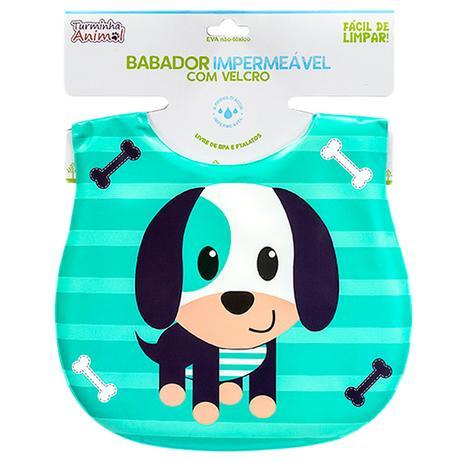 Imagem de Babador Para Bebês Impermeável Turminha Animal Cachorro Unik