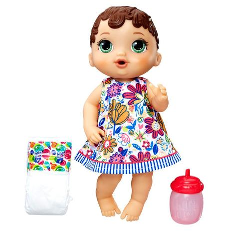 1588d859dc Baby Alive Morena Hora do Xixi - Hasbro - Boneca Baby Alive ...
