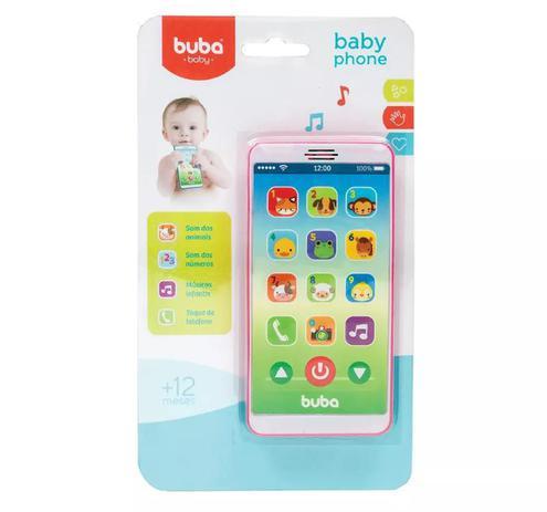 Imagem de Baby Phone Telefone Bebê Celular Musical - Buba