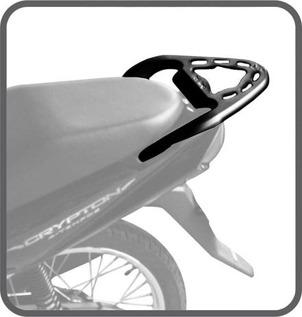 Imagem de Bagageiro suporte bau crypton 115 todas 2010 /