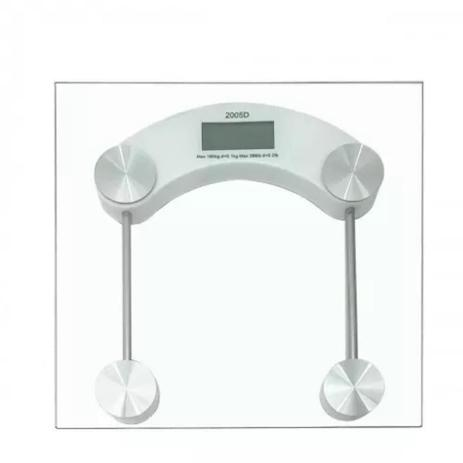 Imagem de Balança Banheiro Digital Vidro Temperado Qualidade Até 180kg