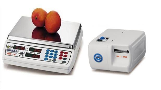 Imagem de Balança com Etiquetador ESE WB-15 + ETX-250 15 kg (Com Bateria) Gural