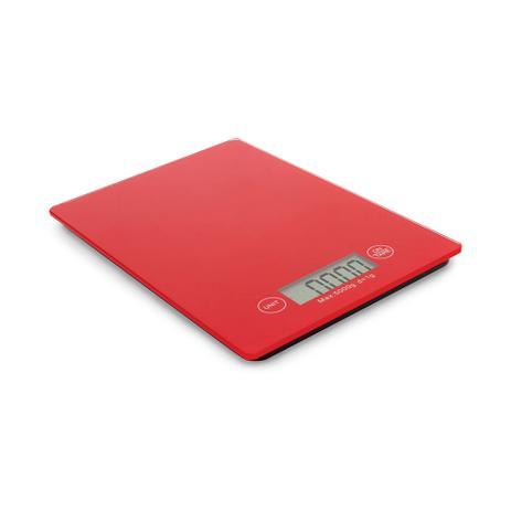 Imagem de Balança de cozinha Hauskraft 5 kg vermelha