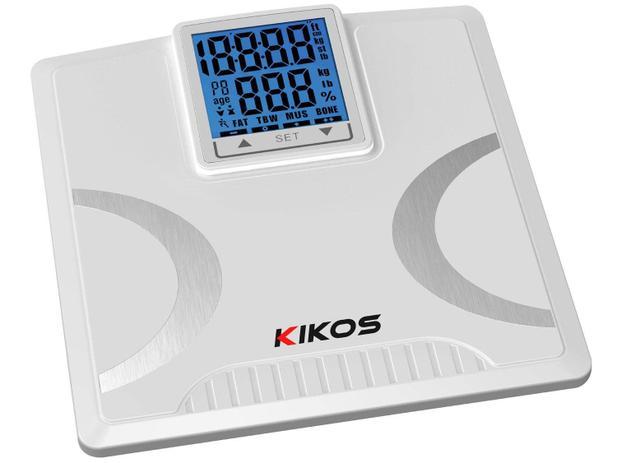 775d10cf9 Balança Digital com Medidor de Gordura - Vidro Temperado - Kikos Taurus