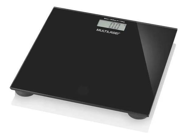 Imagem de Balança Digital Corporal Banheiro Academia 180kg Multilaser
