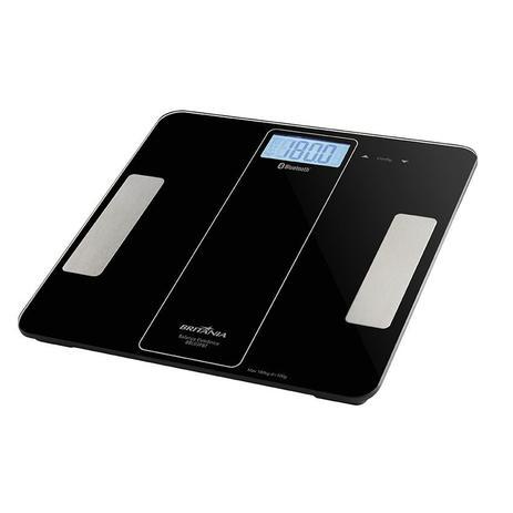 Balança Digital de Banheiro Portátil Bluetooth até 180Kg Britânia BBL03PBT