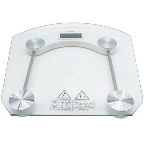 Imagem de Balança Digital Vidro Temperado 180kg Banheiro Academia GT275