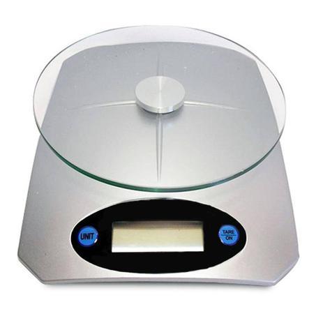Imagem de Balança Para Cozinha De Vidro Digital Com Display
