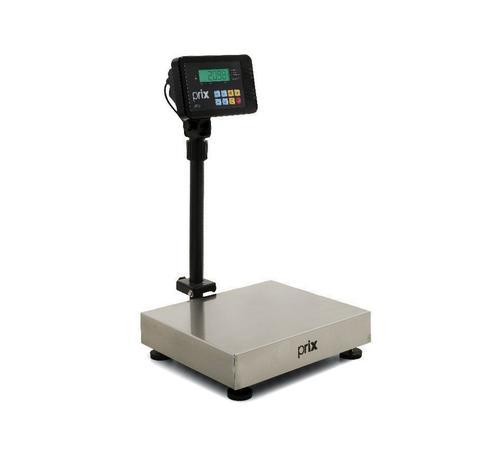 Imagem de Balança Plataforma Digital 2098, TI200, Coluna 80cm, Bateria - 300Kg/50g - Selo Inmetro - Toledo